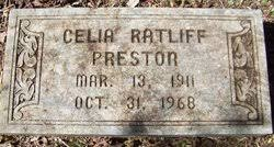 "Cecelia ""Shug"" Ratliff Preston Whaley (1911-1968) - Find A Grave ..."