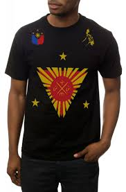 The Philippines Tee In Black