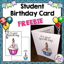 We also have special themes such as zodiac signs birthday ecards, kid's birthday ecards and belated birthday wishes. Birthday Cards For Students Free By Mrs Renz Class Tpt