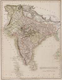 a map of india before partition in 1947 british victorian India Map Before 1600 india, 1808 \