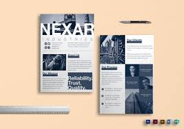 Two Page Brochure Template Two Page Flyer Template 10 Images Dni America Flyer Gallery