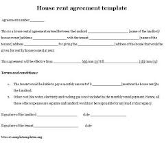 sample rental agreement letter housing rental agreements templates oyle kalakaari co