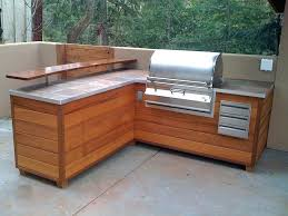 diy built in grill outdoor grill station wood diy built in charcoal grill