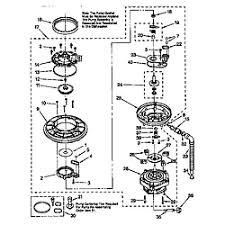 kenmore 665 dishwasher. pump kenmore 665 dishwasher