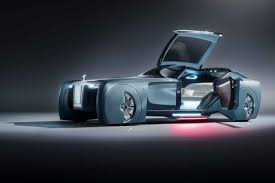 Rolls-Royce unveils an autonomous car for the 1%