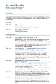 Startup Resume Template General Counsel Resume Samples Visualcv