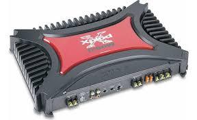 sony xm 2200gtx 2 channel car amplifier 200 watts rms x 2 at sony xm 2200gtx front