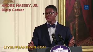 Teen poet Andre Massey Jr. of the Deep... - Live Life and Win