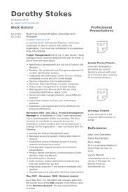 Business Analyst/Product Development Manager Resume samples