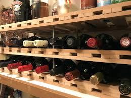 Diy Wall Wine Rack Plans Easy Build In Cabinet. Diy Pallet Wall Wine Rack  Building Lattice Plans. Diy Wine Rack Shelf Insert Shelves.