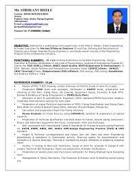 Pipeline Engineer Sample Resume Custom ResumeShrikant44