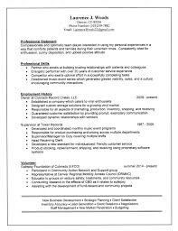 Resume Footer
