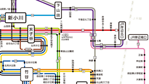 阪急 バス 路線 図
