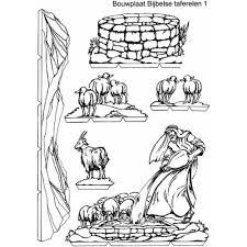 Kopieerplaten Bijbelse Taferelen Voor Een Kijkdoos Waardoor