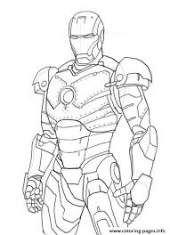 Free printable iron man coloring pages. Iron Man Colouring In Pages4b78 Coloring Pages Printable