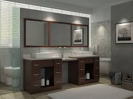 If you have a goal to bathroom vanities with makeup area this selections may help you. Hot New Trend For 2018 Bathroom Vanities With Built In Makeup Tables