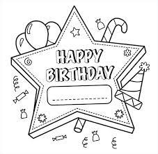Merry Dad Coloring Pages Elegant S Happy Birthday Pdf Fox Page Fun