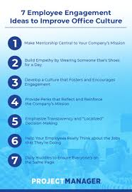 7 Employee Engagement Ideas To Improve Office Culture
