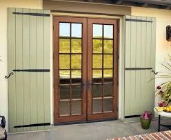 french doors exterior. Oak French Doors Exterior Fiberglass Veneer Interior