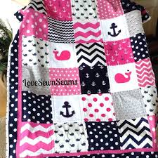 This Baby Whale Anchor Quilt Is Lovesewnseams Signature Quilt It ... & This Baby Whale Anchor Quilt Is Lovesewnseams Signature Quilt It Was  Designed From My Nautical Themed Adamdwight.com