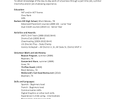 How To Make A Resume For A Teenager First Job Resume Example For Teenager Literarywondrous Of Template Sample 43