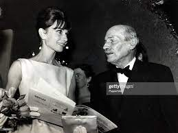 19th October 1961, Actress Audrey ...