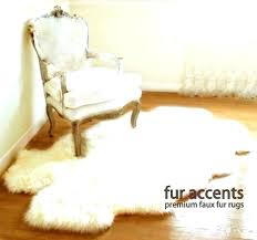 faux fur animal rug real skin rugs for sheepskin sheep hide fake how to clean living real rug faux rugs design natural cream animal skin