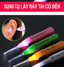 Ráy Tai Có Đèn Pin cao Cấp - Sử dụng riêng tránh lây nhiễm, Đảm bảo vệ sinh  sạch sẽ cho đôi tai của bạn | Thiết bị chăm sóc sức khỏe