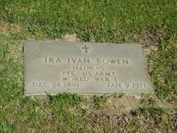 Ira Ivan Bowen (1891-1971) - Find A Grave Memorial