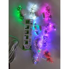 Giá bán Đèn trang trí, đèn led dây chớp có chớp giá rẻ đủ màu.