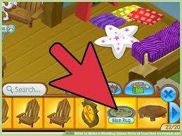 image titled make a wedding party at your den on animal jam step 4