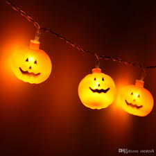 Battery Operated Halloween Mini Lights Pary Holiday Pumpkin Shape Lights Mini String Lights Pumpkin Strip Battery Operated Starry Lights For Christmas Wedding Party Decoration Christmas