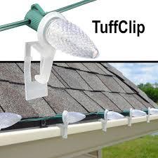 Clips For C6 Lights C7 C9 Tuffclip Roof Top Gutter Clip