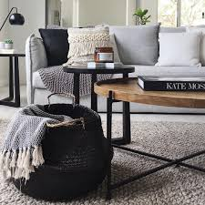 Room Ideas Jute Natural Rug Light Grey Couch Wood Coffee Table Pinterest Jute Natural Rug Light Grey Couch Wood Coffee Table Home