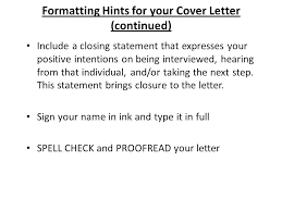 Closing Cover Letters Closing Line For Cover Letter Closing