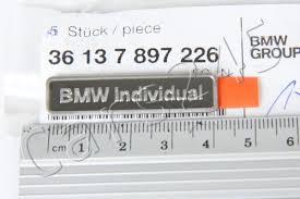 BMW Convertible bmw individual badge : Genuine BMW E46 Wheel Center Hub Emblem Badge BMW Individual OEM ...