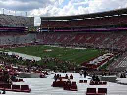 Alabama Seating Chart Bryant Denny Bryant Denny Stadium Section Mm Row 56 Seat 15