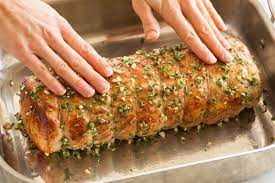 pork loin roast cooking cly