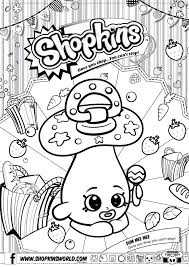 Shopkins Girl Coloring Pages Download