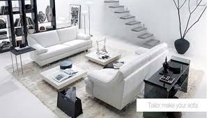 black n white furniture. Living Room Design:Black And White Sofas Furniture Decorating U0026 Design Black N