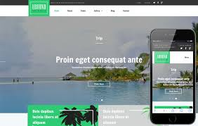 Website Layout Template Gorgeous Around A Travel Category Responsive Web Template W28layouts