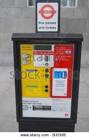 Oyster Card Vending Machine Beauteous Bus Passes And Tickets Ticket Machine London England United