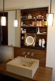 sliding cabinet doors for bathroom. Elegant Lighted Makeup Mirror In Bathroom Contemporary With Vanity Next To Sliding Cabinet Doors Alongside For S