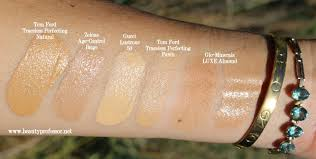 Glo Minerals Colour Chart Glo Minerals Luxe Foundation Color Chart Glo Minerals