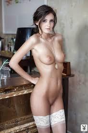 Brunette model undress nude