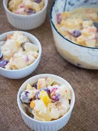 creamy fruit salad filipino style