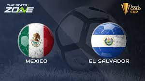 2021 CONCACAF Gold Cup Mexico vs El ...