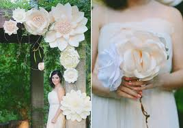 Paper Flower Diy Wedding Giant Paper Flower Wedding Inspiration 100 Layer Cake