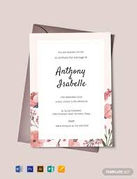 Free Printable Wedding Invitation Templates For Word Clipart