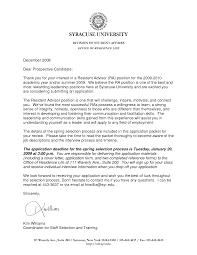 Academic Advisor Cover Letter Billigfodboldtrojer Com